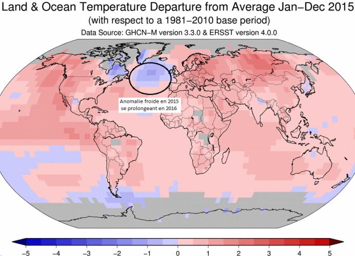 Image d'illustration pour L'Atlantique se refroidit au Sud du Groenland - Quelle conséquence ?