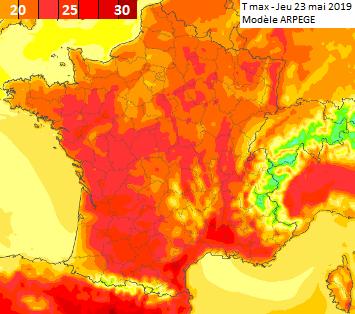 Image d'illustration pour A quand les premiers 30°C ? La chaleur se fait attendre