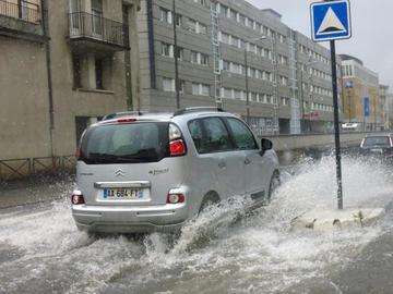 Image d'illustration pour Fortes pluies et quelques inondations en Vendée, Deux Sèvres et Vienne