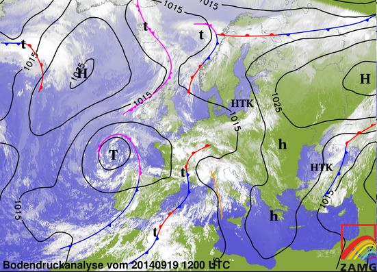 Image d'illustration pour Synthèse de l'épisode pluvio-orageux du 16 au 20 septembre près des Cévennes