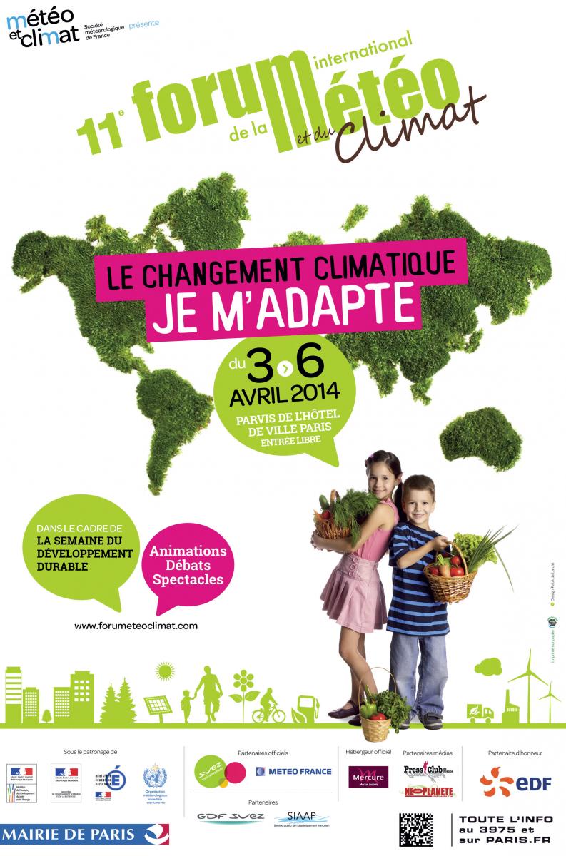 Image d'illustration pour Forum International de la Météo à Paris