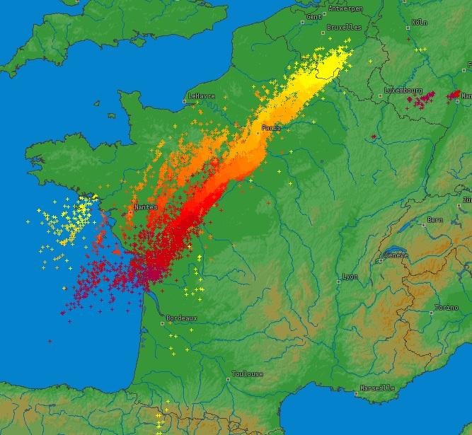 Image d'illustration pour Météo Paris : Forts orages en Ile de France