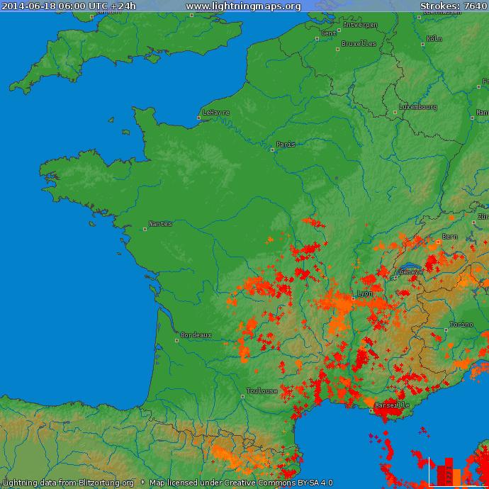 Image d'illustration pour Foudre : quatre maisons incendiées en 2 jours en Isère