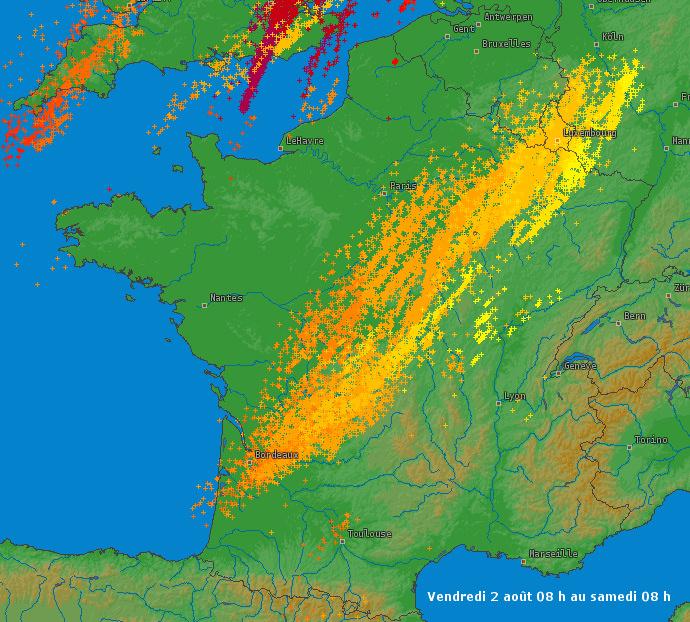 Image d'illustration pour Orages de grêle dans le Sud Ouest