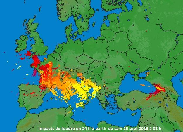 Carte Italie Croatie Slovenie.Trombes Et Violents Orages En Italie Croatie Slovenie