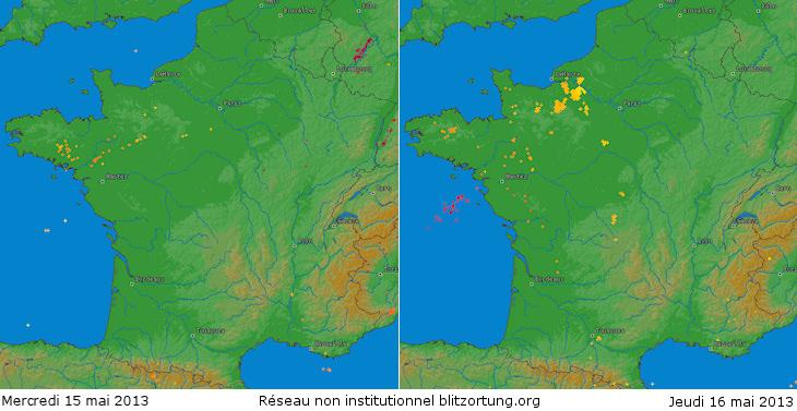 Image d'illustration pour Quelques orages en France avec tuba et trombe