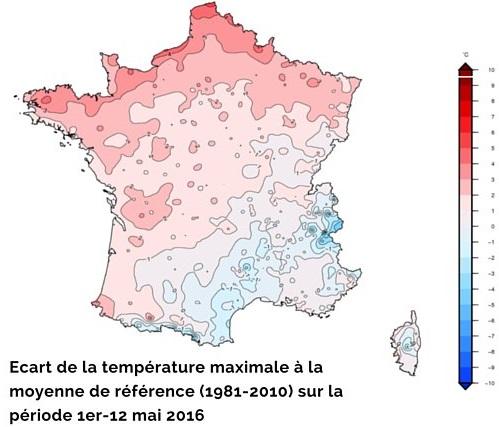 Image d'illustration pour Baisse sensible des température et risque de gel pour la Pentecôte