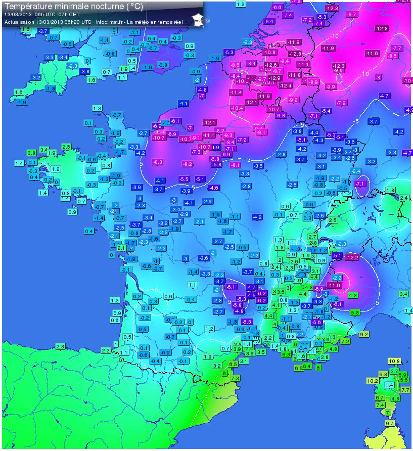 Image d'illustration pour Mars 2013 : chutes de neige exceptionnelles en Normandie