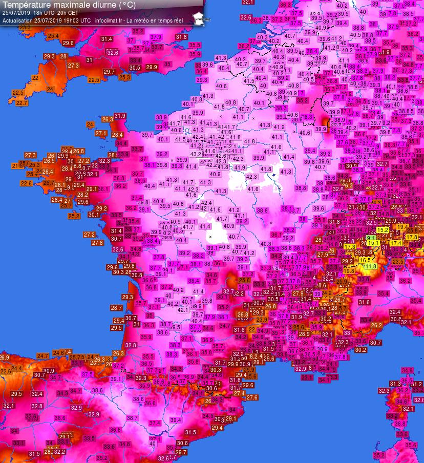 Image d'illustration pour Retro météo 2019 : les évènements climatiques ayant fait la une en France