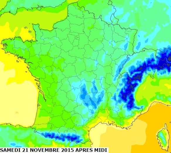 Image d'illustration pour Brusque refroidissement - Risque de gelée - Le froid va-t-il durer ?