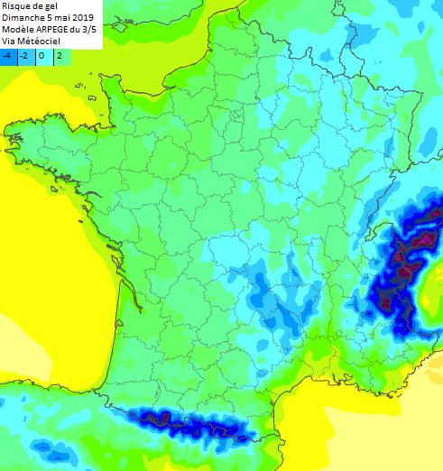Image d'illustration pour Froid, neige et tempête : retour de l'hiver pour débuter mai !