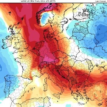 Carte De Leurope Meteo.Vers Une Vague De Froid Sur L Europe De L Est 28 Decembre 2015 Html
