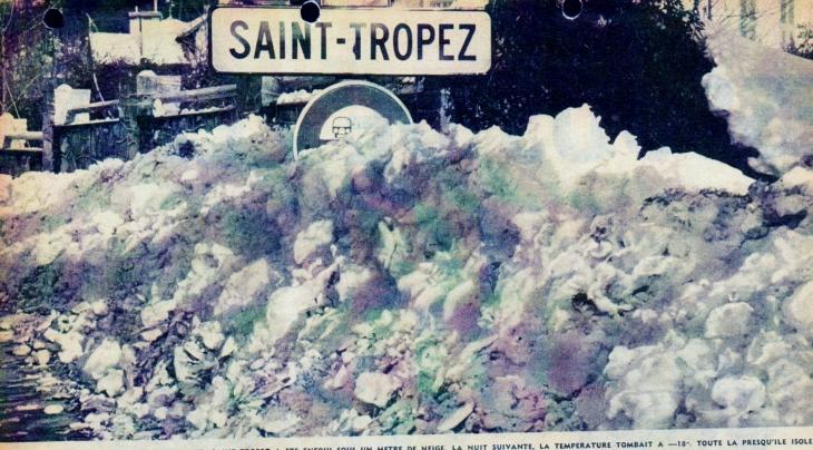 Image d'illustration pour Pire vague de froid du XXème siècle en février 1956