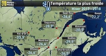 Image d'illustration pour Froid polaire sur le Canada et l'Est des USA