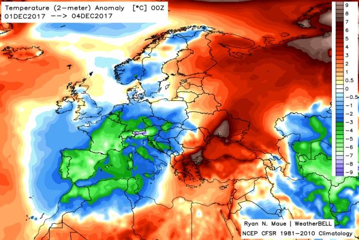 Image d'illustration pour Début décembre froid et fréquemment gelé