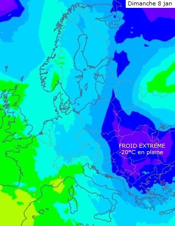 Image d'illustration pour Froid, neige et verglas en fin de semaine