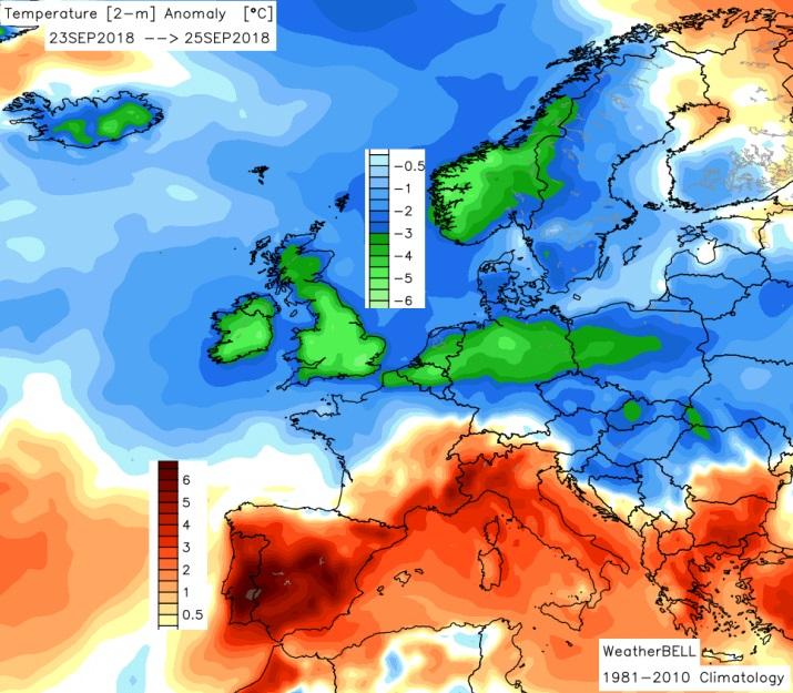 Image d'illustration pour Gel et records de froid au sein d'un septembre trop doux
