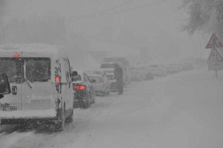 Image d'illustration pour Vague de froid et neige entre Turquie et Moyen Orient