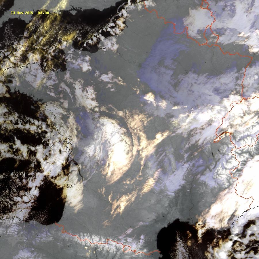 Image d'illustration pour Fréquentes et parfois fortes gelées - givre sur la végétation