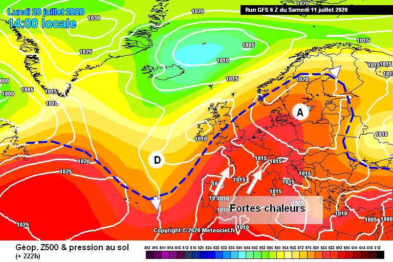 Image d'illustration pour Fortes chaleurs à partir de la fin semaine ? Les scénarios divergent