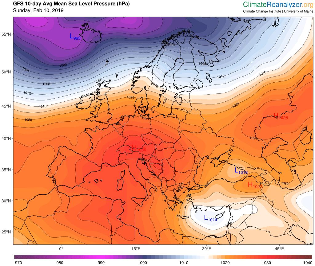 Image d'illustration pour Installation de l'anticyclone : soleil et douceur la semaine prochaine