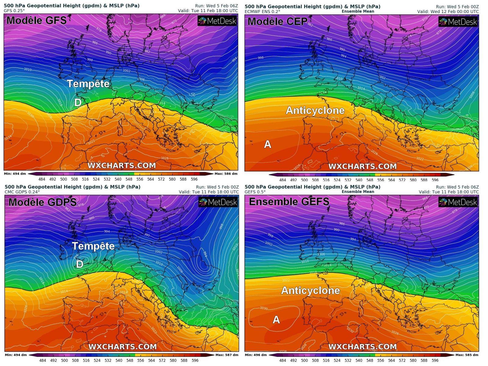 Image d'illustration pour Un risque de tempête à partir de Dimanche et surtout la semaine prochaine ?