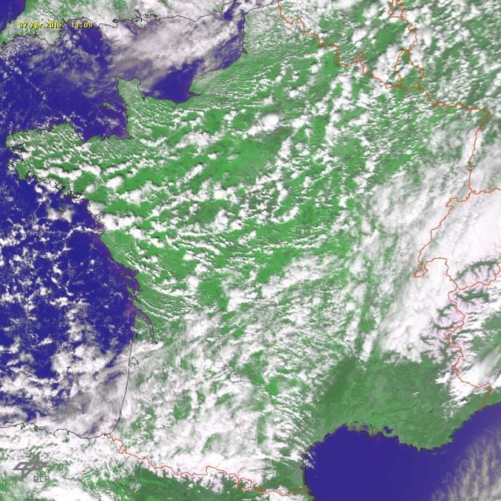 Image d'illustration pour Giboulées, orage et grêle provoquent des accidents