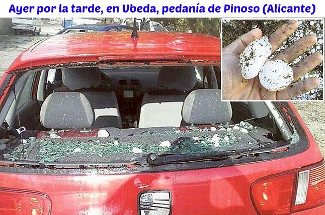 Image d'illustration pour Violents orages de grêle en Espagne