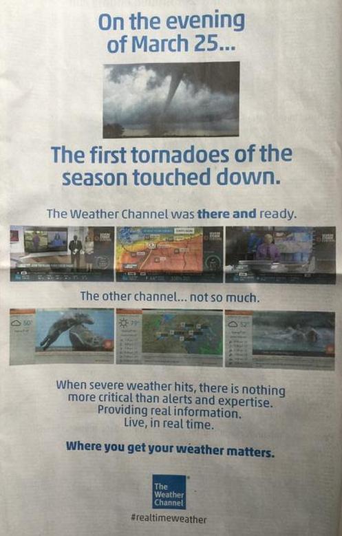 Image d'illustration pour La météo : un marché concurrentiel