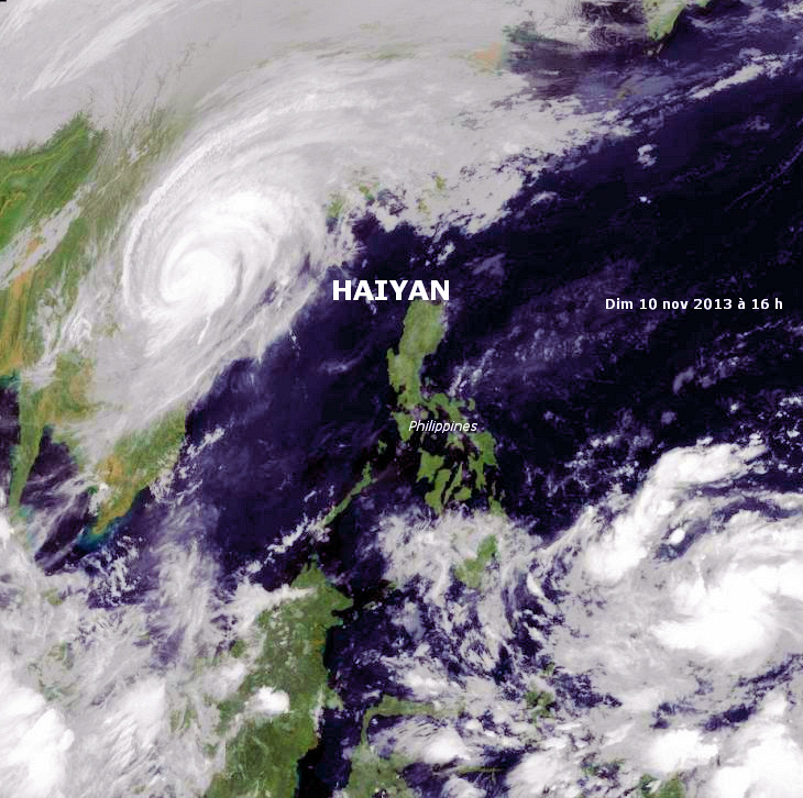 Image d'illustration pour Typhon Haiyan : catastrophe aux Philippines - Menace au Vietnam