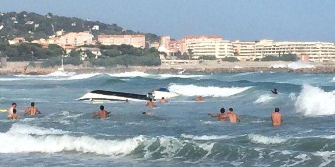 Image d'illustration pour Vent, houle et vagues sur les plages du Languedoc Roussillon