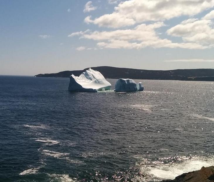 Image d'illustration pour La saison des icebergs débute sur l'Est du Canada