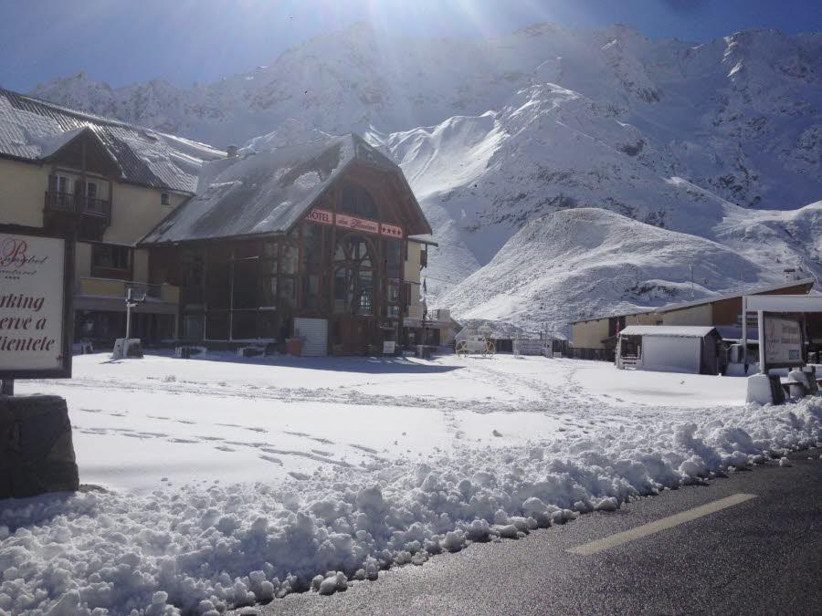 Image d'illustration pour Chutes de neige sur les Alpes du Sud et près de l'Italie