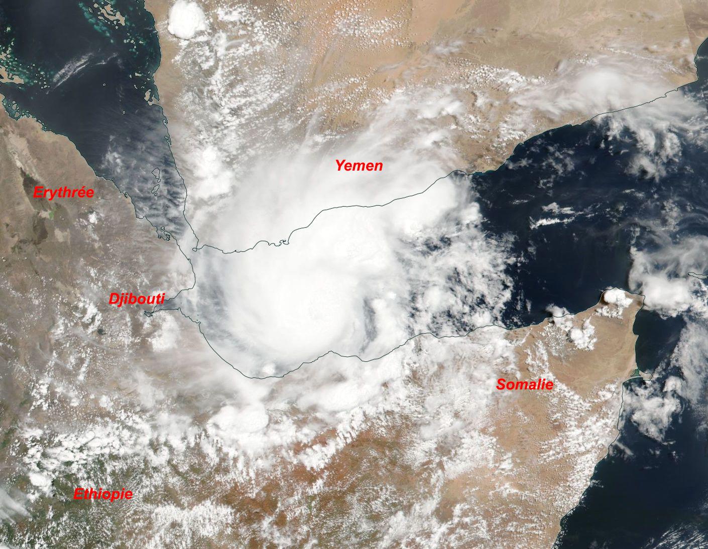 Image d'illustration pour Tempête tropicale Sagar : phénomène rare dans le golfe d'Aden