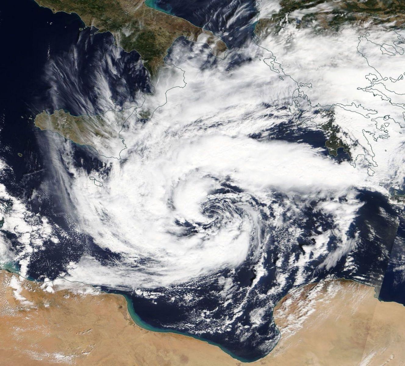 Image d'illustration pour Zorbas : nouveau cas de Médicane en Méditerranée