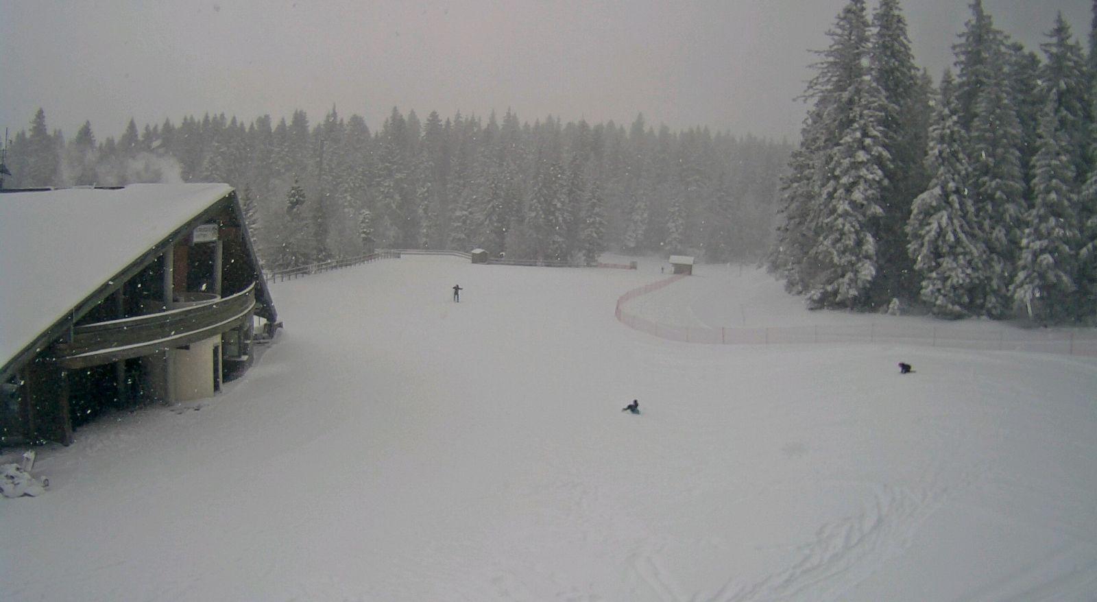Image d'illustration pour La neige fait enfin son retour dans les régions de l'Est