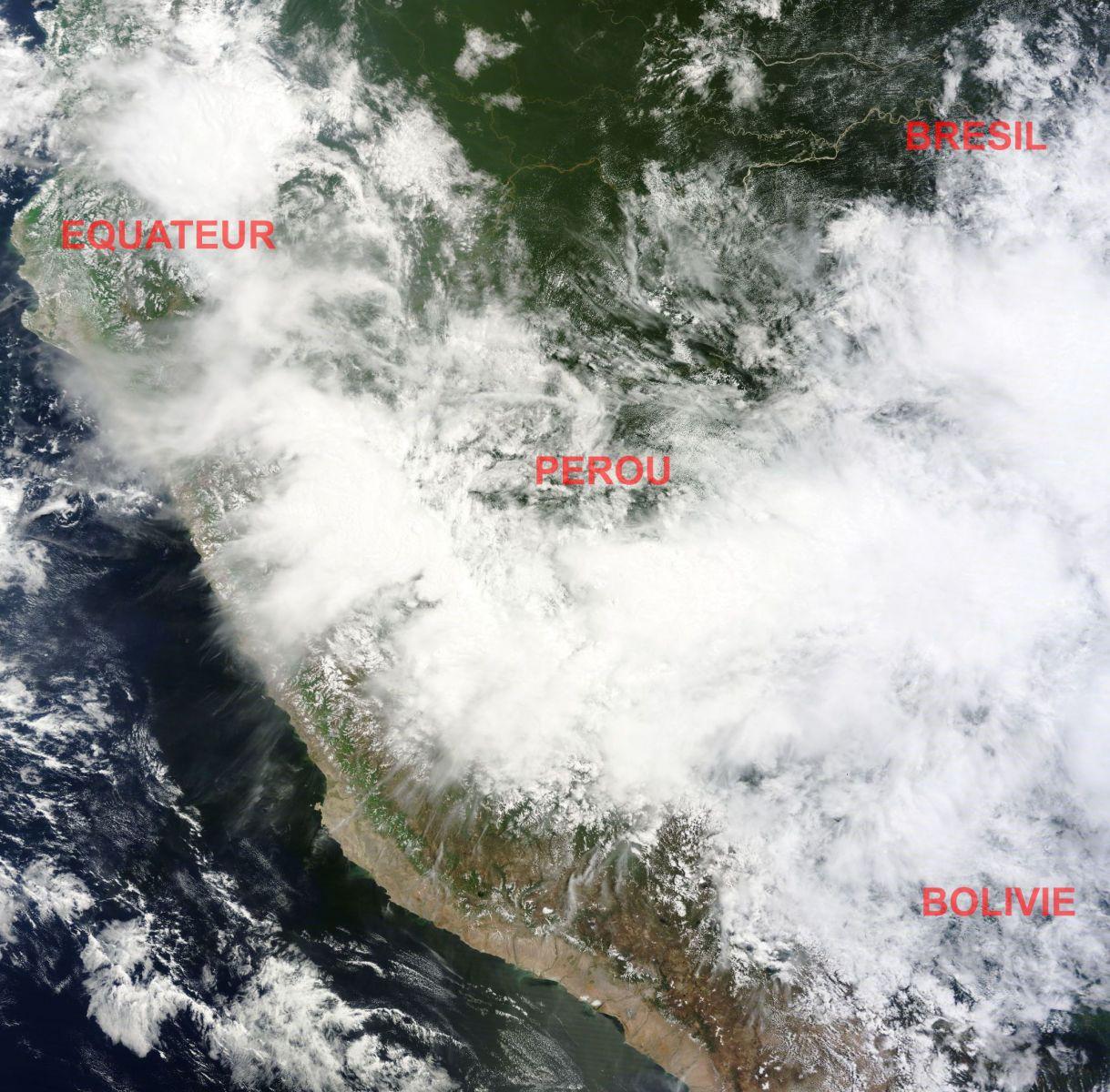 Image d'illustration pour Nouvelles inondations meurtrières au Pérou