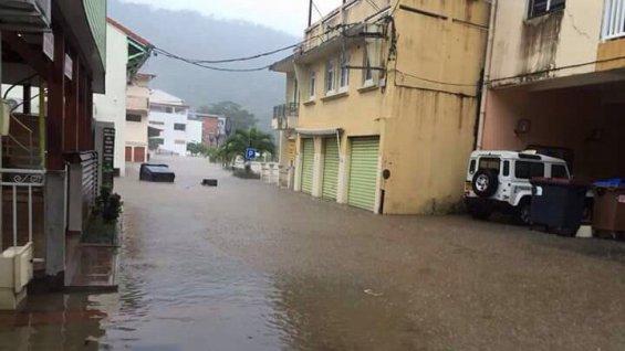 Image d'illustration pour Forte pluie et inondations sur les Antilles en Martinique