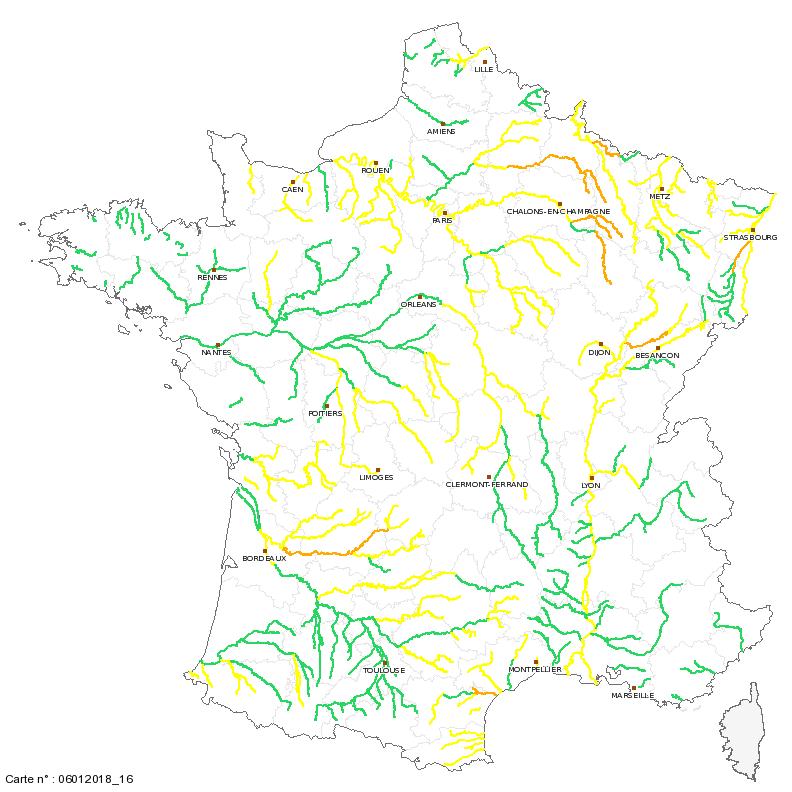 Image d'illustration pour Pluie abondante, crues et inondations pour débuter 2018