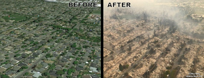 Image d'illustration pour Incendies meurtriers en Californie