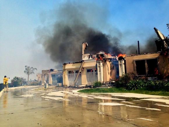 Image d'illustration pour Incendies et sécheresse en Californie (Etats-Unis) - Tornade de feu