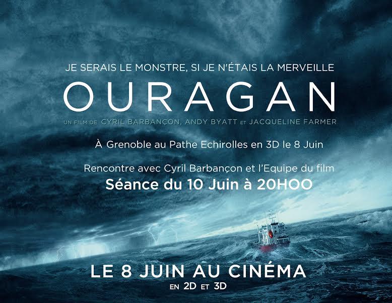 Image d'illustration pour Box-office : sortie du film OURAGAN au cinéma le 8 juin