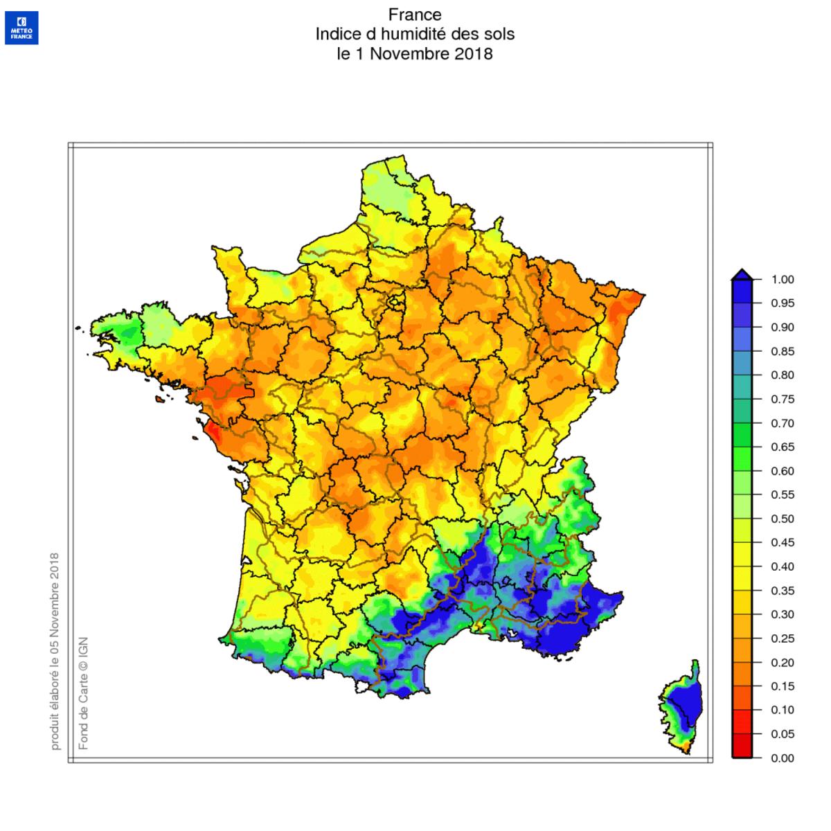 Image d'illustration pour Sécheresse : situation hydrologique toujours inquiétante