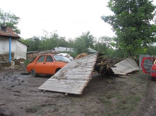 Image d'illustration pour Inondations meurtrières en Roumanie