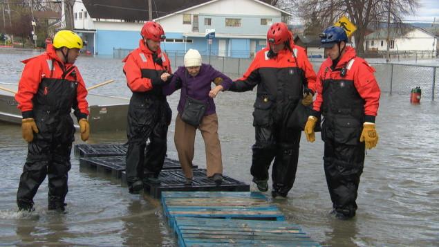 Image d'illustration pour Importantes inondations en cours au Québec