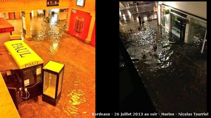 Image d'illustration pour Orages très violents en Aquitaine et Poitou Charentes
