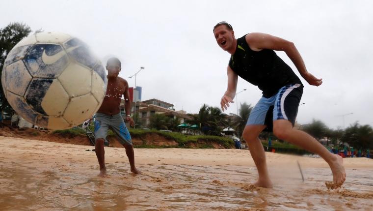 Image d'illustration pour Coupe du Monde de football - intempéries meurtrières au Brésil