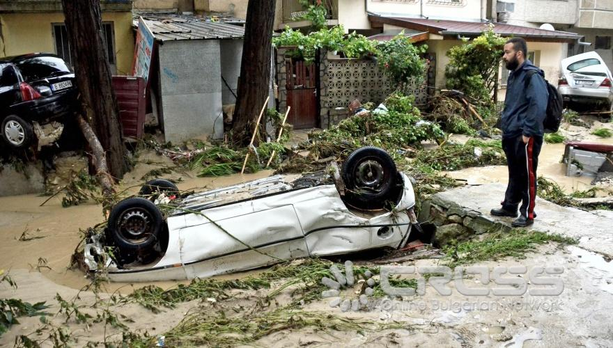 Image d'illustration pour Crues et coulées de boue meurtrières en Bulgarie