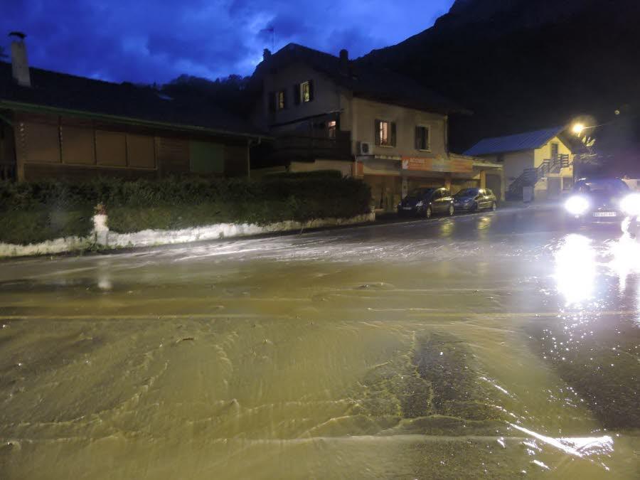 Image d'illustration pour Nouvelles inondations en Haute Savoie et en Suisse