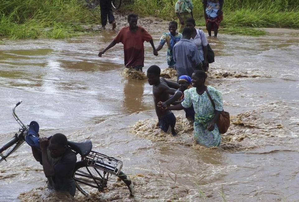Image d'illustration pour Inondations dramatiques au Mozambique et au Malawi